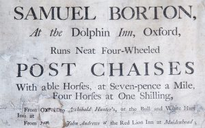 Samuel Borton's Post Chaises
