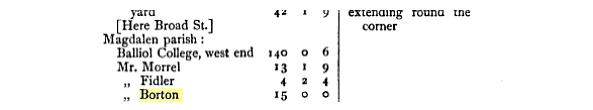 More on Samuel Borton in 1772