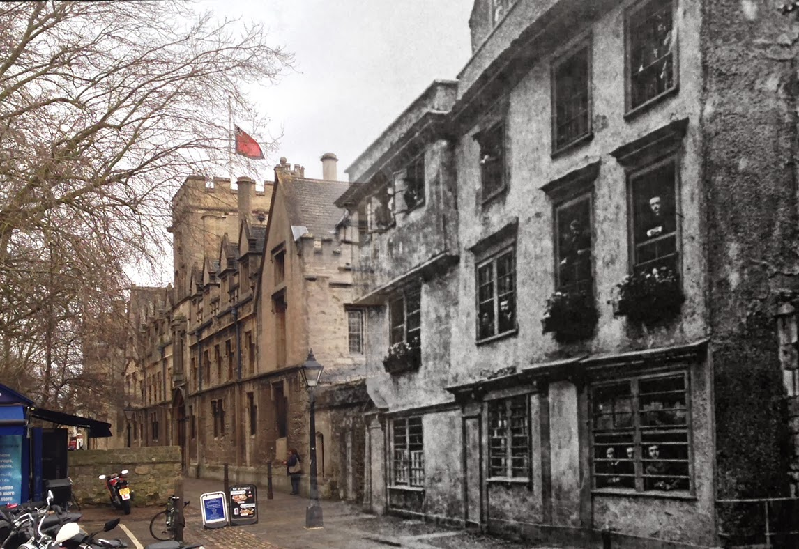 The Dolphin Inn - then and now