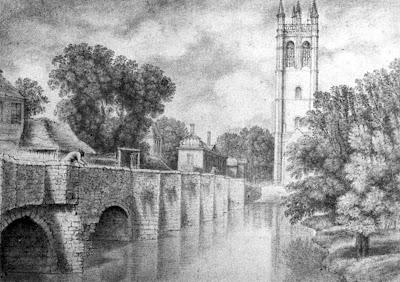 Magdalen Bridge c.1772